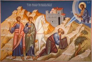 La conversion de Paul – Icône