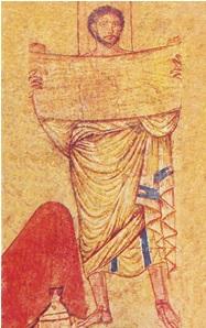 Le prophète Jérémie Synagogue de Doura-Europos