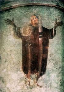 Orant - Catacombe de Priscille