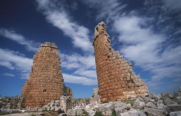 Les tours de la ville