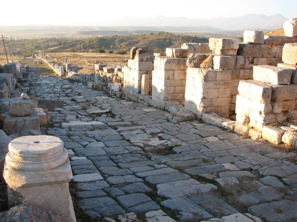Le Decumanus Maximus,