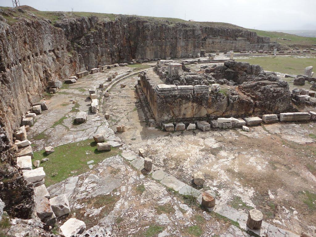 Le temple d'Auguste