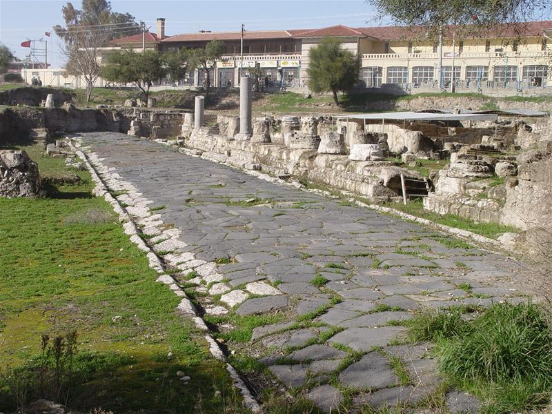 La voie romaine entrant à Tarse