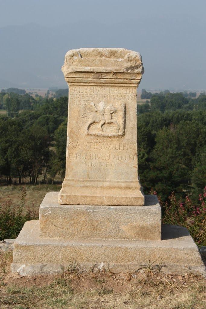 Stèle du nom de « Philippes »