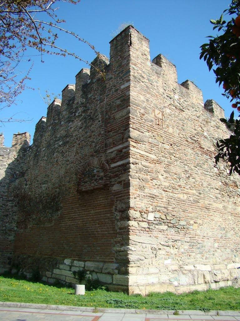 Les murs d'enceinte de la ville
