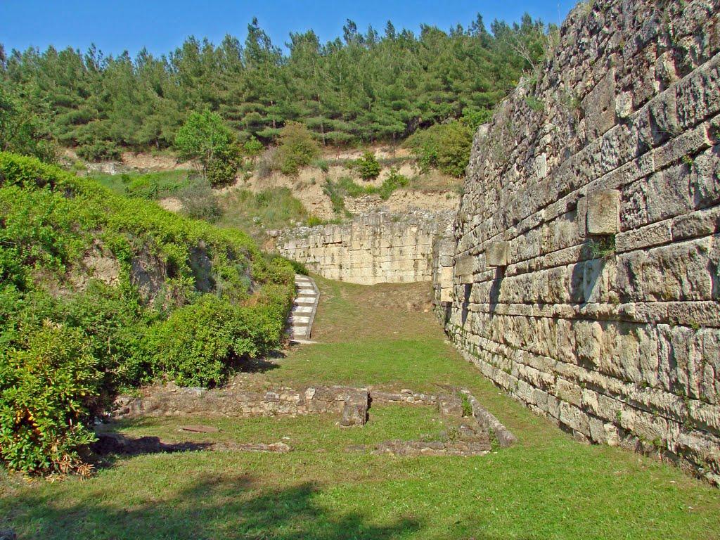 Murailles d'époque hellénistique