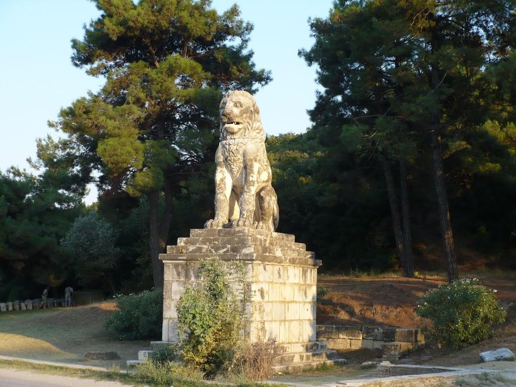 Le « lion d'Amphipolis »