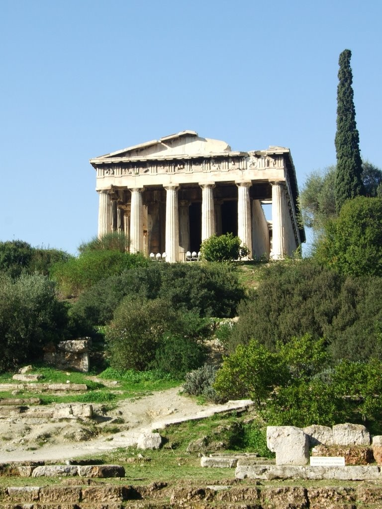 Le temple d'Héphaïstos