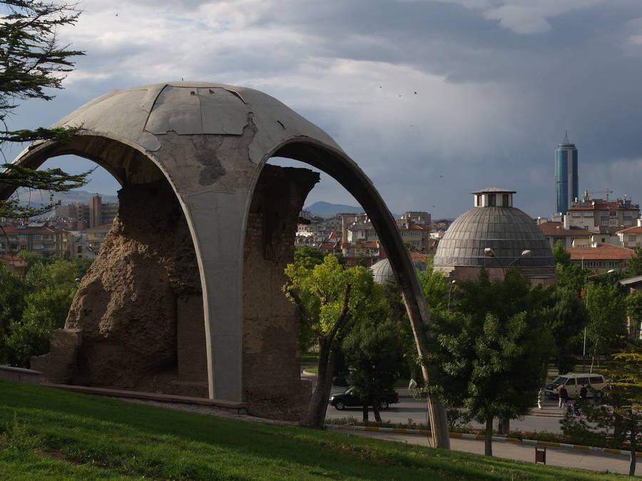 la ville d'Iconium