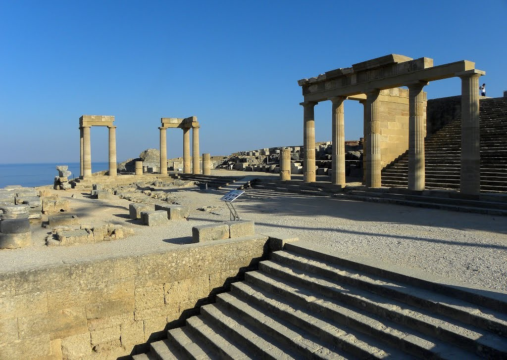 Temple d'Athéna à Lindos