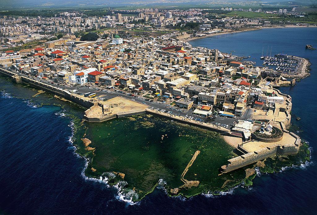 Une vue aérienne d'Acre