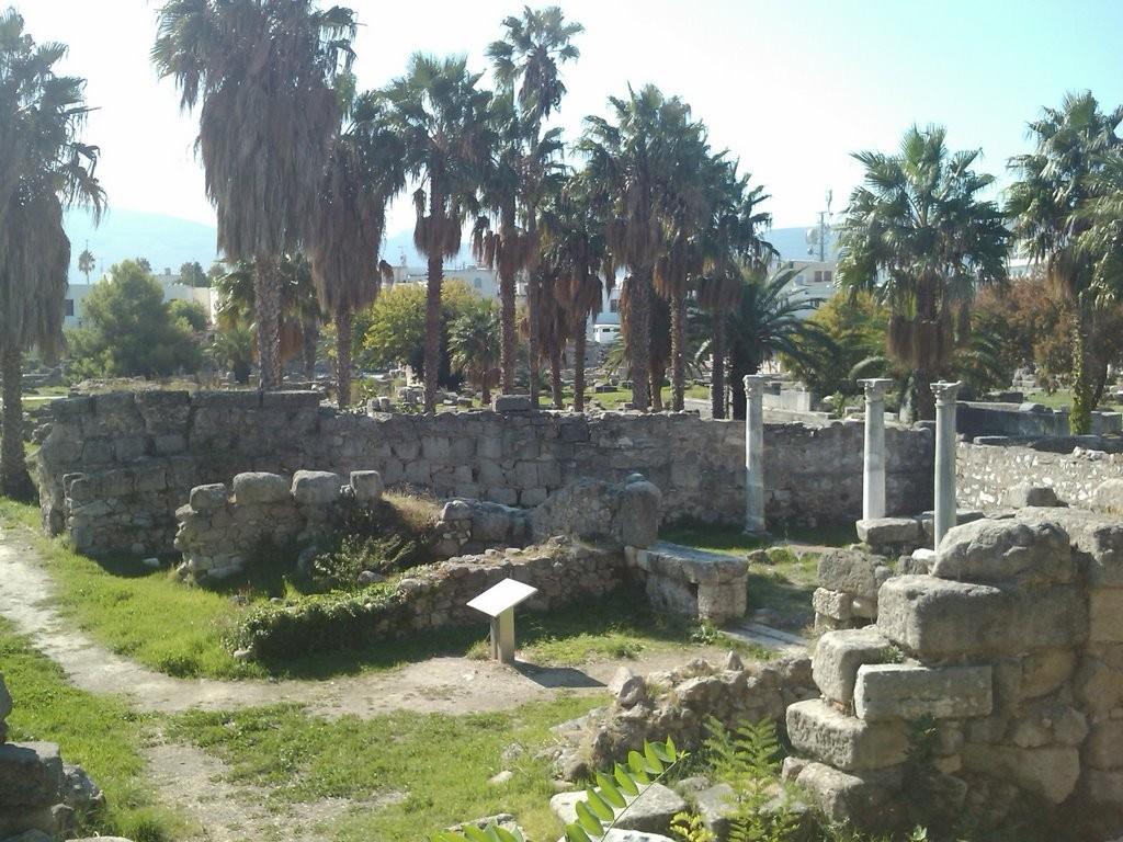 Ruines de l'antique Cos
