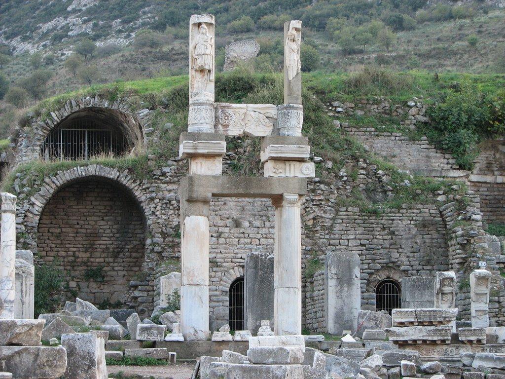 Le temple de Domitien