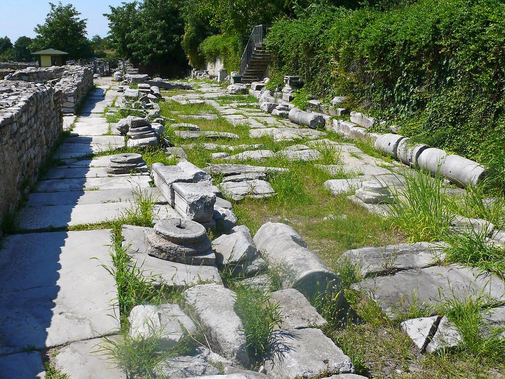 La Via Egnatia à Philippes