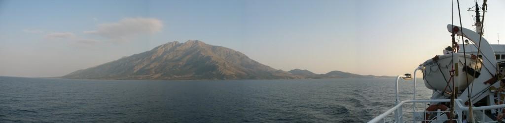 L'île de Samothrace