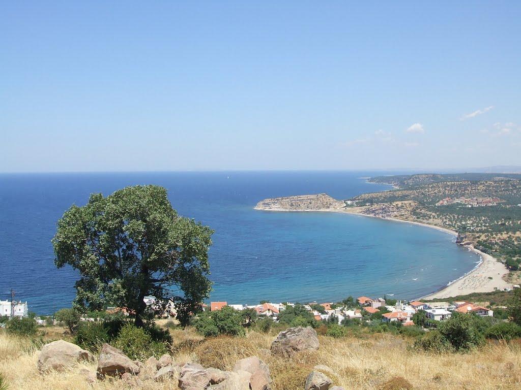 La côte au sud de Troas