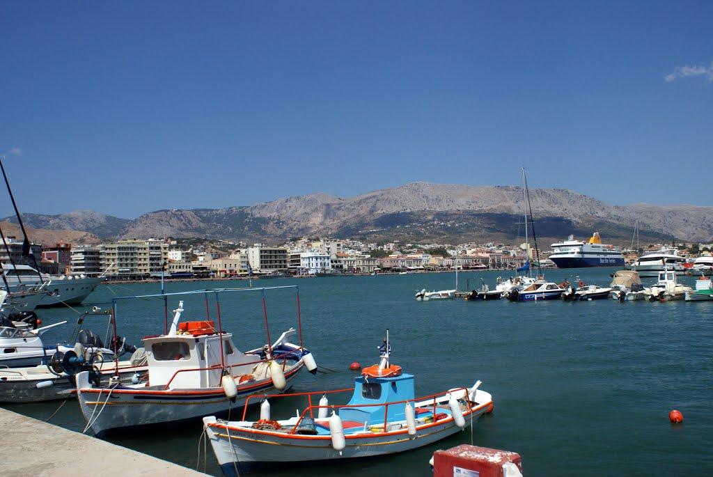 Le port de Chio