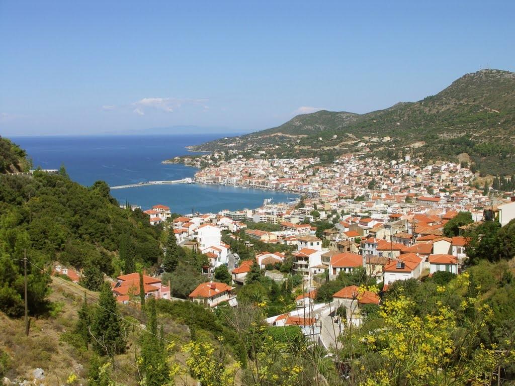 La ville de Vathy