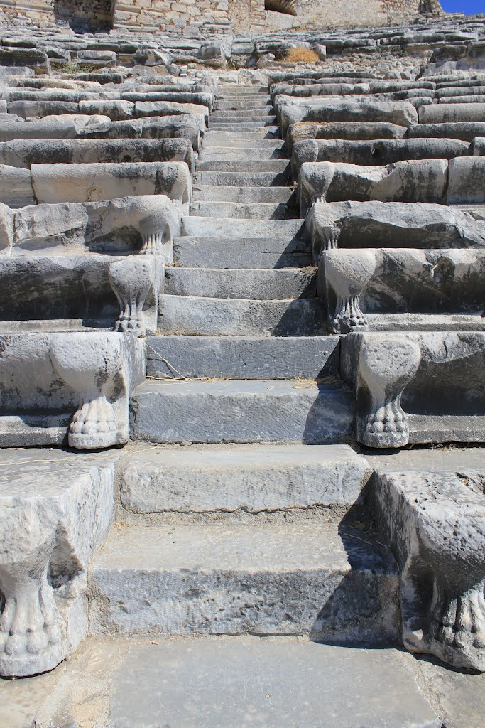 Escalier du théâtre