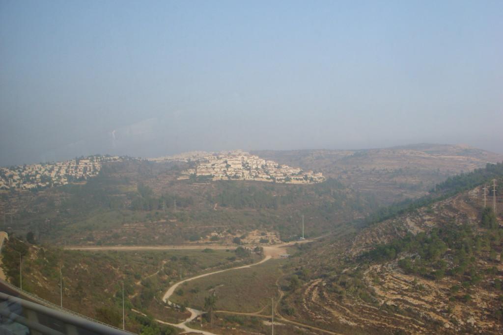 Les montagnes de Judée
