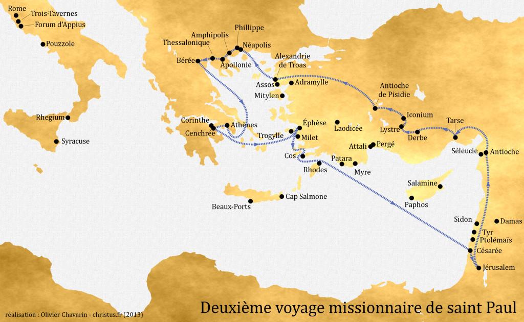 2ème voyage missionnaire