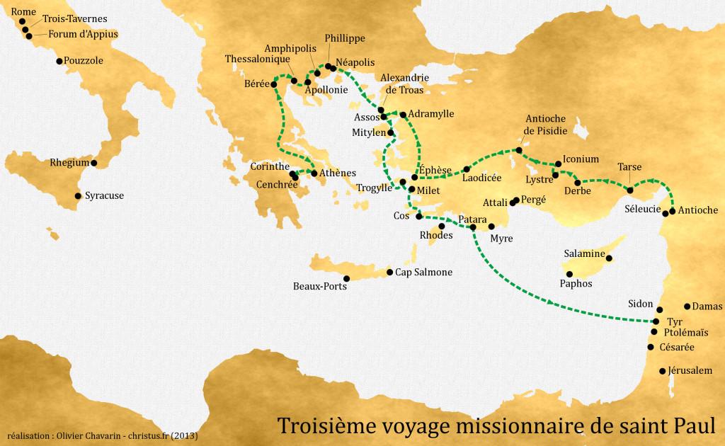 3ème voyage missionnaire
