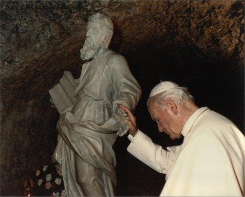 Passage de St Jean-Paul II