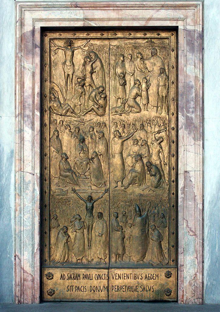 La « Porte Sainte »